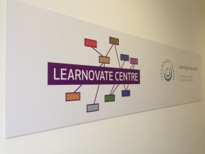 Learnovate Centre Sign
