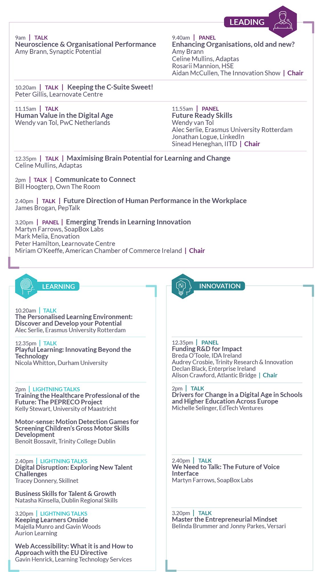 Programme Summary 2019
