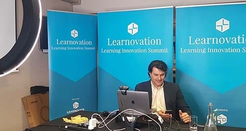 MC Tom at The Learnovation Summit